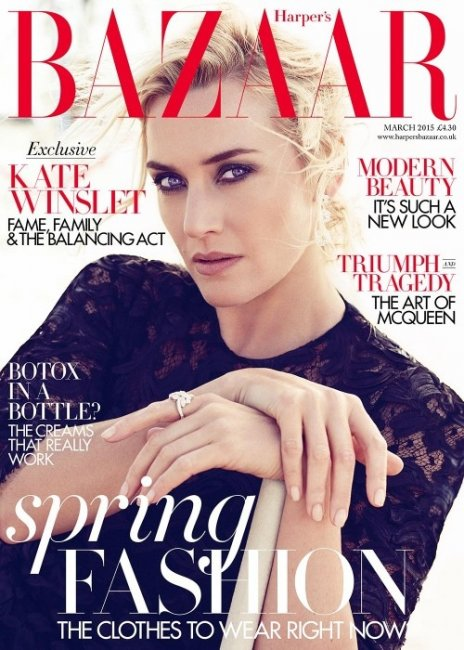 Кейт Уинслет в Harper's Bazaar UK