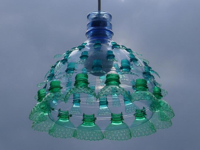 Искусство из пластиковых бутылок Veronika Richterova
